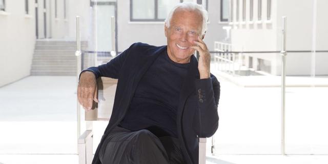 """""""Non voglio più lavorare così"""": la potente lettera di Giorgio Armani alla moda"""