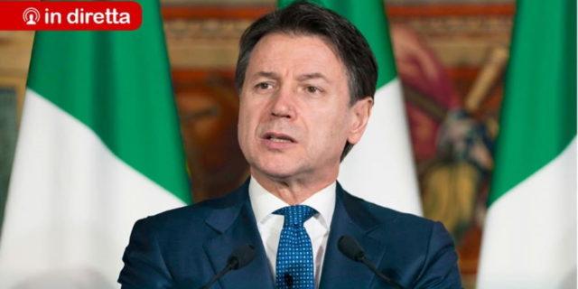 Il Premier Giuseppe Conte presenta il Decreto Rilancio
