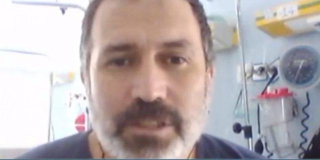 Chi è Ambrogio Iacono, il prof con il Covid19 che fa lezione dall'ospedale