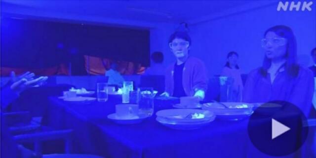 Come si diffonde il Covid-19 al buffet nei ristoranti: l'esperimento giapponese
