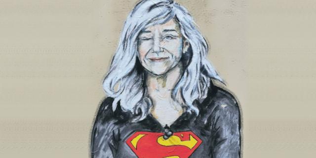 """""""Giovanna Botteri una Superwoman"""": il murales in onore della stimata giornalista"""