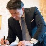 Il Premier Conte illustra il piano dell'Italia per la Ripartenza