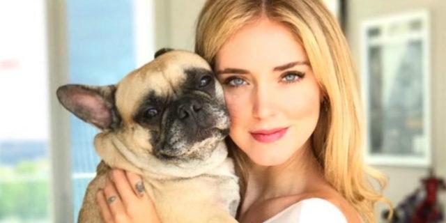 Le lacrime di Chiara Ferragni per Matilda la cagnolina e il dolore per i nostri animali
