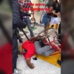 USA, la polizia scaraventa a terra un uomo con disabilità e rompe la carrozzina