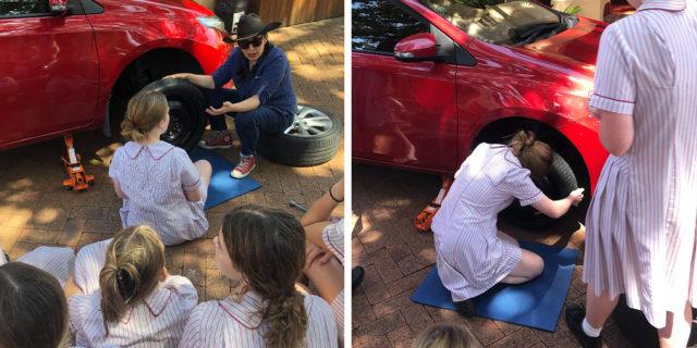 Perché questo collegio femminile insegna alle ragazze come cambiare una ruota