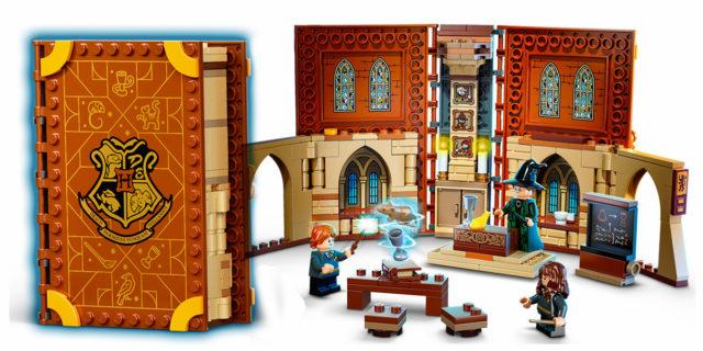 Come una magia: i libri Lego di Harry Potter che si trasformano in aule di Hogwarts