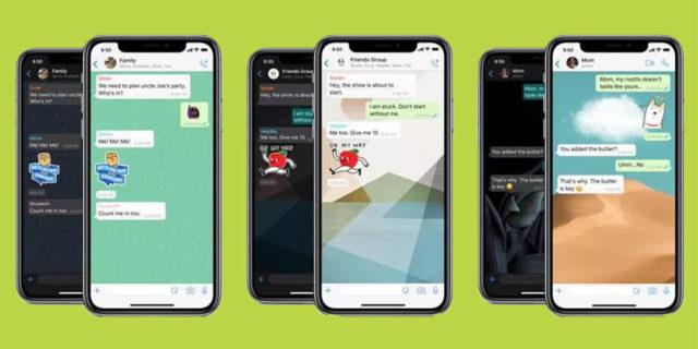 In arrivo i nuovi sfondi WhatsApp: basta inviare messaggi nella chat sbagliata