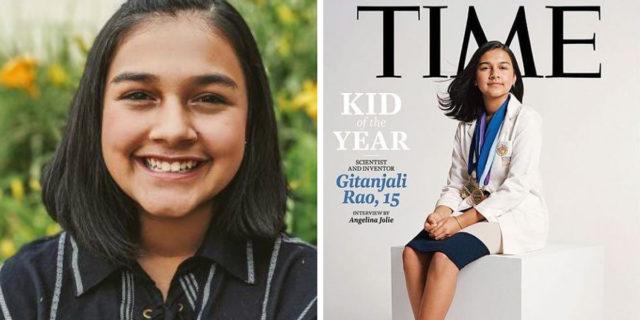 """Chi è Gitanjali Rao, la giovanissima scienziata eletta """"giovane dell'anno"""" dal Time"""