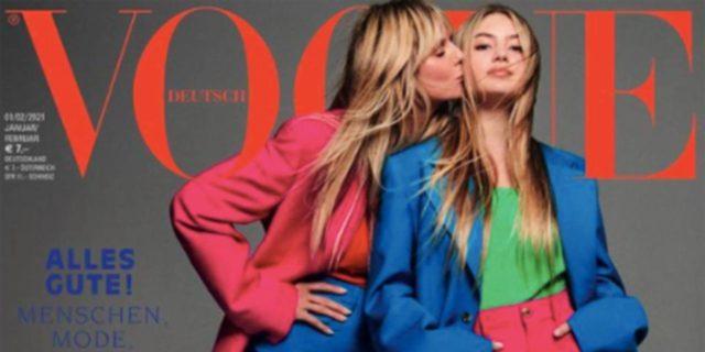 Leni Klum, la figlia di Hiedi Klum e Flavio Briatore debutta su Vogue a 16 anni