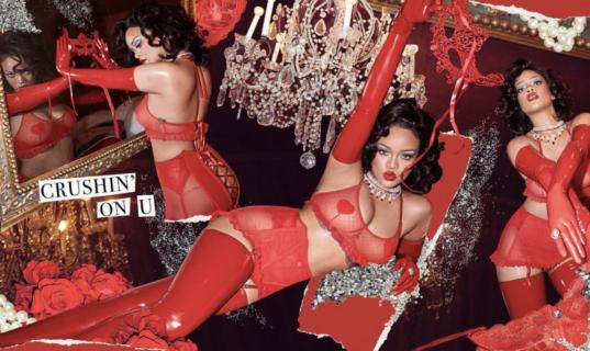 """""""Se vi fa sentire bene... Fatelo!"""": Rihanna nella sua lingerie per San Valentino"""