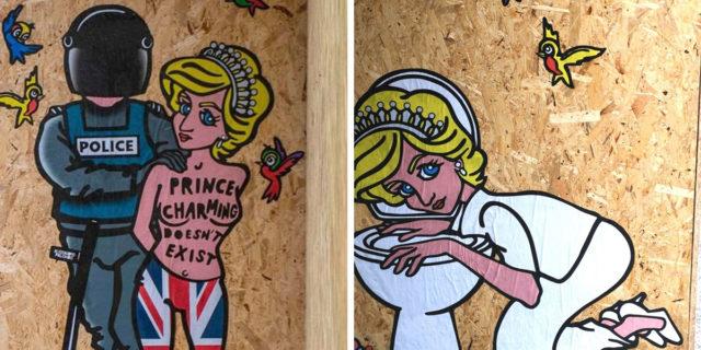 Il messaggio di Lady Diana, bulimica e ribelle per le strade di Milano