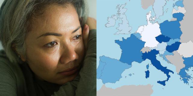 La misura della solitudine: la mappa di quanto ci sentiamo soli in Europa