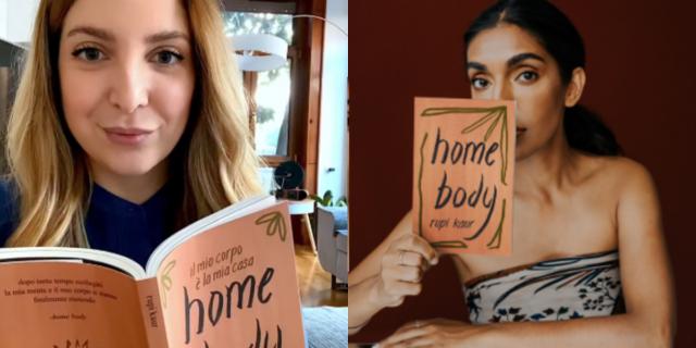 """""""Ansia da produttività"""": Florencia Di Stefano Abichain legge """"Home Body"""" di Rupi Kaur"""