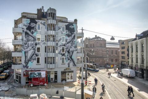 I murales mangia-smog che colorano le città e aiutano l'ambiente