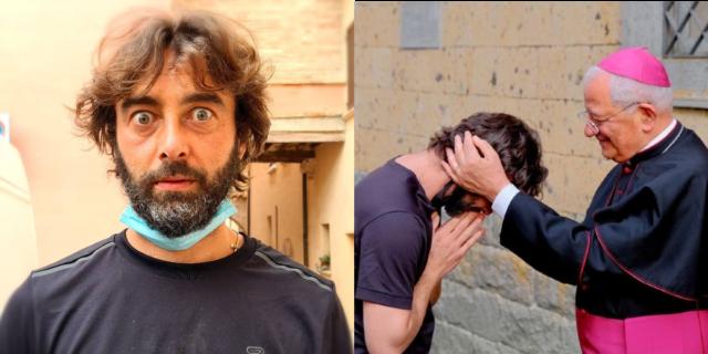 """""""Mi sono innamorato"""": l'""""ex don"""" Riccardo Ceccobelli lascia la tonaca per coerenza"""