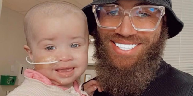 """Ashley Cain: """"Mia figlia sta per morire. Ma ogni giorno è un dono"""""""