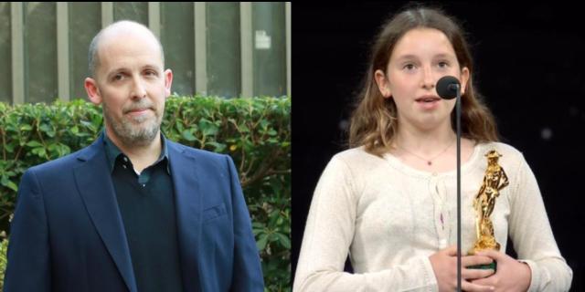 Il dolce discorso di Emma, figlia di Mattia Torre, per la vittoria del papà ai David