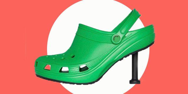 Ciabatte con stiletto: Balenciaga mette i tacchi alle Crocs