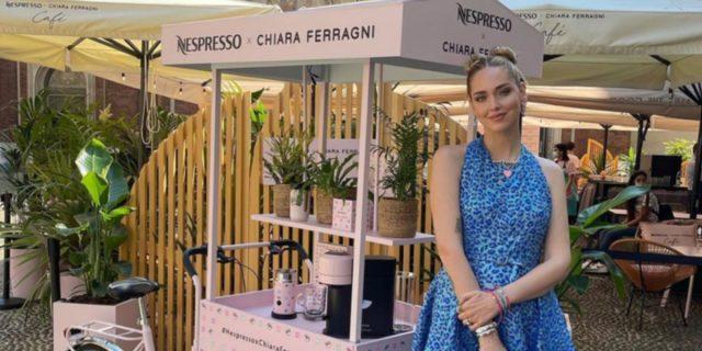"""""""Un sogno che si realizza"""": Chiara Ferragni apre il suo Nespresso temporary cafè"""