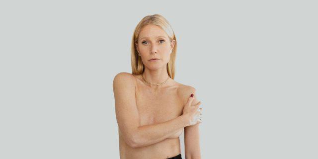 Perché Gwyneth Paltrow ha posato in topless per Goop
