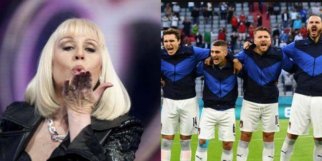 Euro 2020, i bellissimi omaggi dell'Italia e della Spagna a Raffaella Carrà