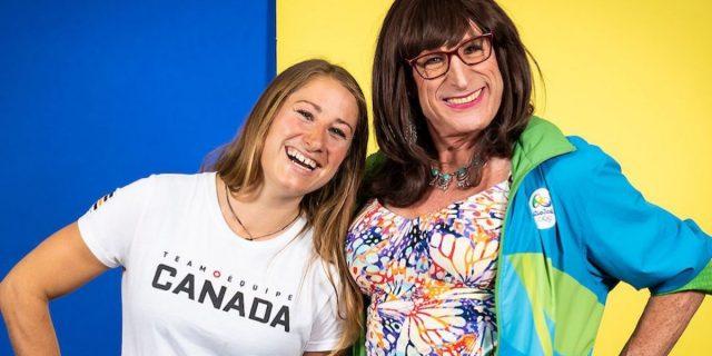 Kimblerly e Haley Daniels, le Olimpiadi di padre e figlia contro ogni stereotipo