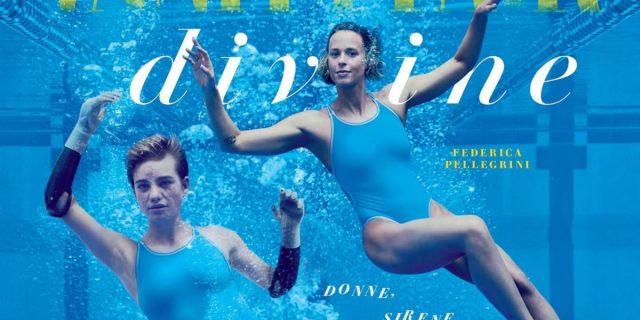 """Bebe Vio e Federica Pellegrini, """"divine creature"""" nella copertina d'artista per Vanity"""