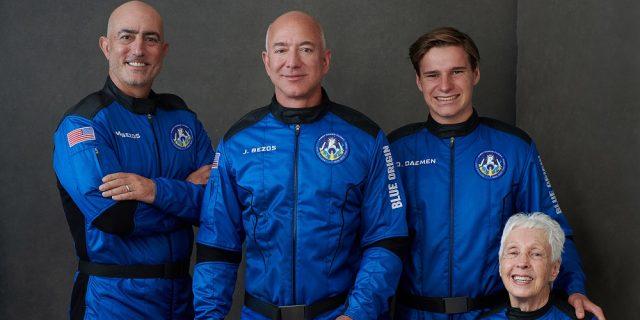 Come seguire in diretta il lancio di Jeff Bezos nello spazio