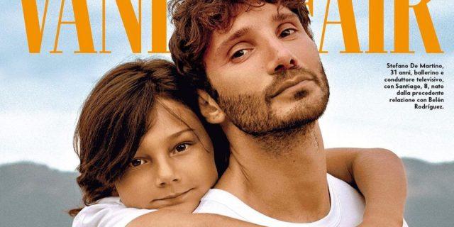 L'essere padre secondo Stefano De martino, in copertina su Vanity Fair con Santiago