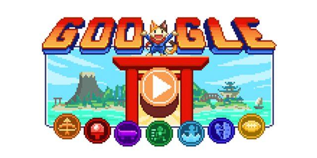 Oggi con il doodle di Google chiunque può provare a vincere una medaglia