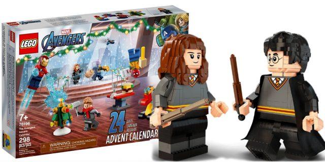 Dal calendario dell'avvento di Harry Potter agli Avengers: ecco 6 nuovi set Lego
