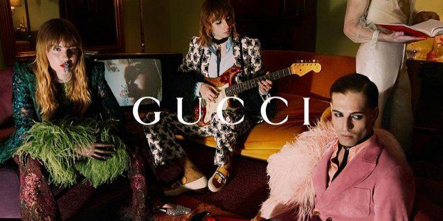 Gli incredibili scatti di Gucci con i Måneskin come modelli