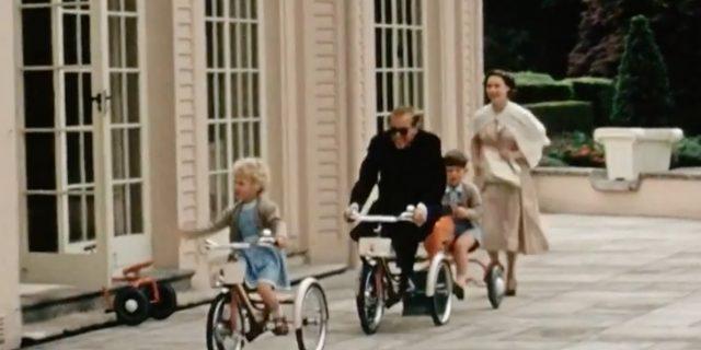 Il dolce video postato da Carlo sul documentario dedicato al duca Filippo