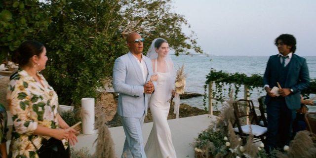 La dolcezza di Vin Diesel che accompagna all'altare Meadow, figlia di Paul Walker