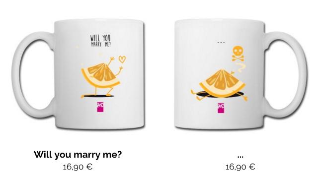 tazza roba da donne per sposarlo