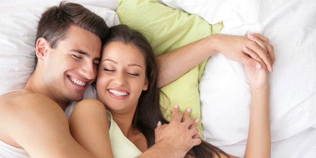 coppia felice senza sesso