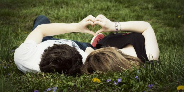 coppia fidanzati innamorati