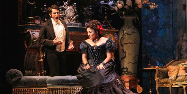 coppia drama queen teatrale