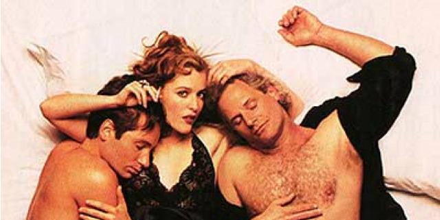 sesso a tre con due uomini