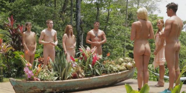 Reality a corpo nudo