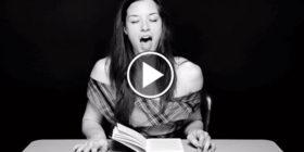 12 video per 12 donne che leggono… fino all'orgasmo! In diretta.