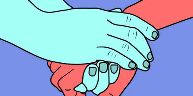 modo in cui tiene la mano rivela cosa prova