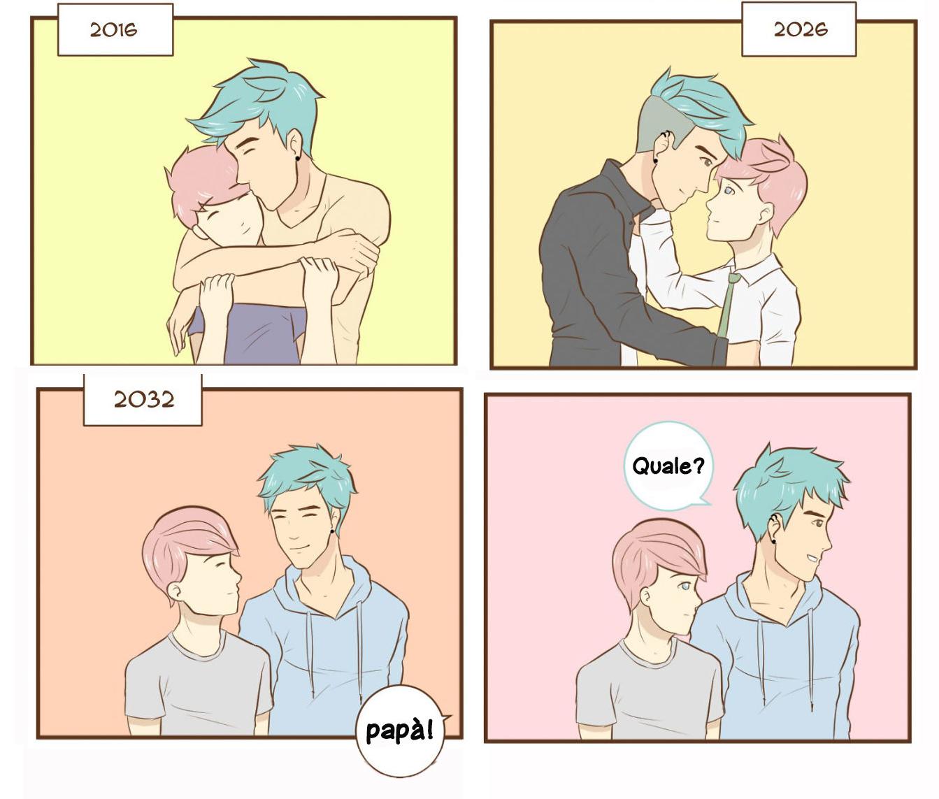 La vita di una coppia gay in 14 romantiche immagini