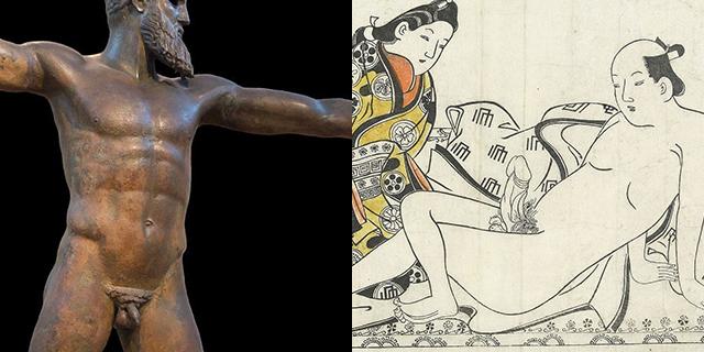 Un pene non è solo un pene: come cambia la sua rappresentazione nell'arte e perché