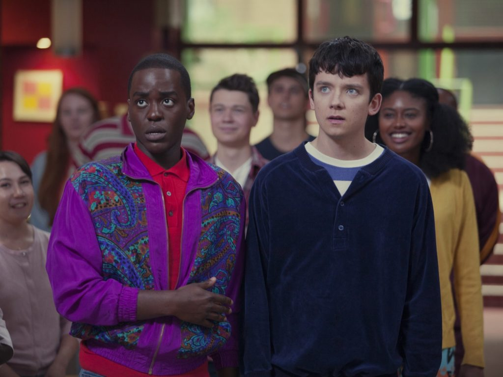 "Asa Butterfield e Emma Mackey, chi sono Otis e Maeve che fanno ""Sex Education"""