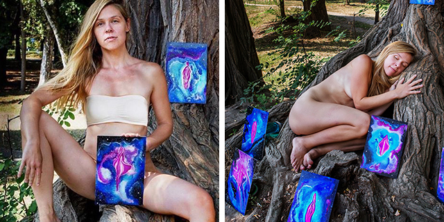 """""""Perché dopo il parto di mia figlia ho deciso di disegnare vagine"""""""