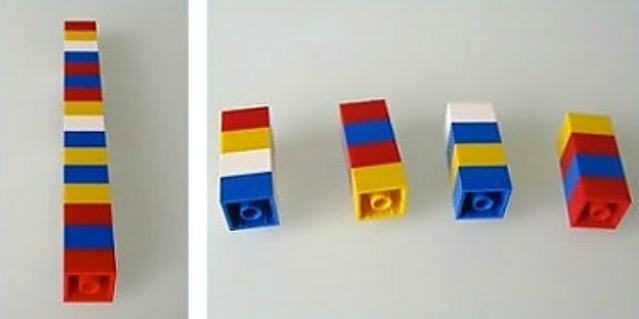 insegnare matematica coi lego