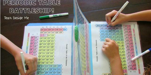 insegnare tavola periodica
