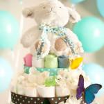 La torta di pannolini, un regalo unico e originale!