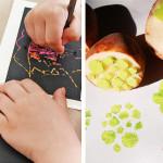 Non solo pennarelli: 15 tecniche divertenti per dipingere con i vostri bimbi